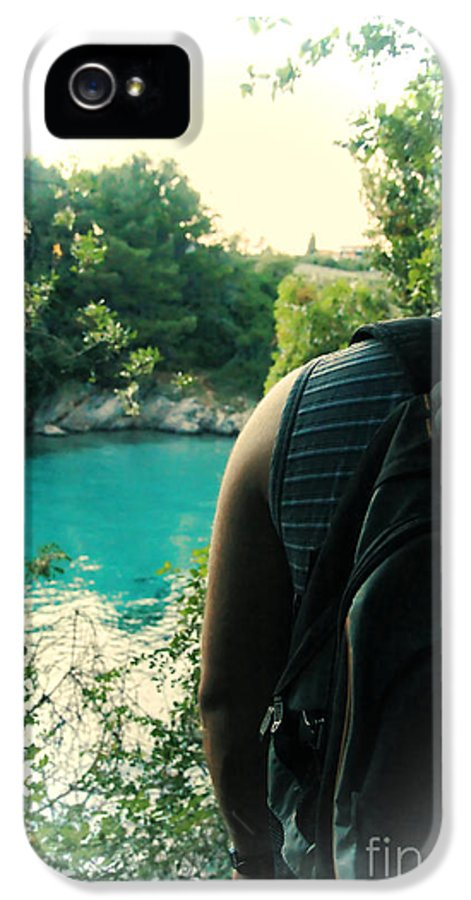 Lagoon IPhone 5 Case featuring the photograph The Lagoon by Jasna Buncic