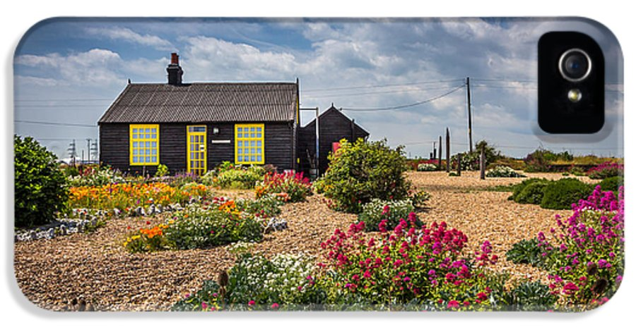 House IPhone 5 Case featuring the photograph The Little House. by Gary Gillette