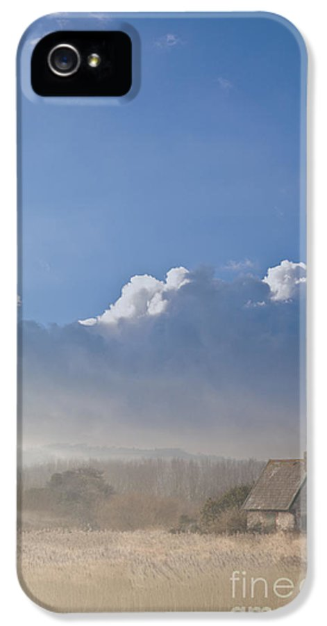 House IPhone 5 Case featuring the photograph The Lock Keepers Cottage by Jan Bickerton