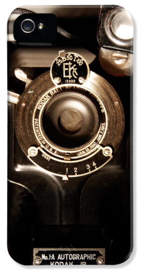 Camera IPhone 5 Case featuring the photograph The Locomotive by Steven Digman