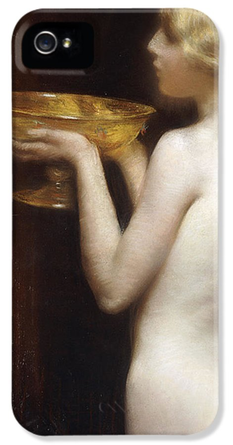 Australian IPhone 5 Case featuring the painting The Loving Cup by Janet Agnes Cumbrae-Stewart