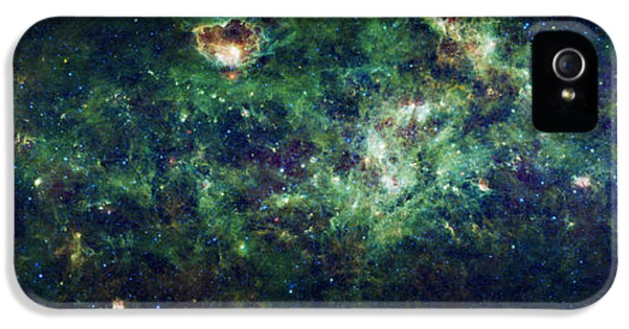 Milky Way IPhone 5 Case featuring the photograph The Milky Way by Adam Romanowicz