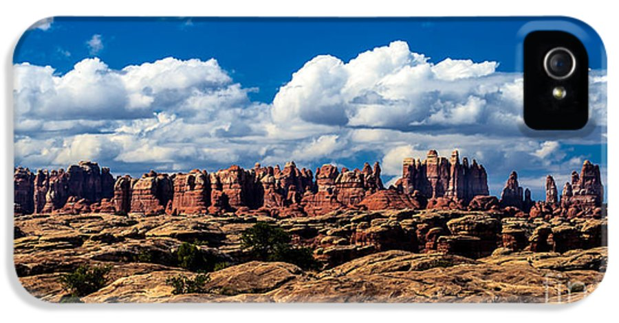 Panoramic IPhone 5 Case featuring the photograph The Needles by Robert Bales