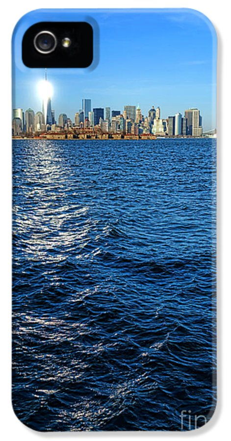 New York City IPhone 5 Case featuring the photograph The New Beacon by Olivier Le Queinec