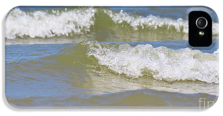North Sea IPhone 5 / 5s Case featuring the photograph The North Sea by Angela Doelling AD DESIGN Photo and PhotoArt