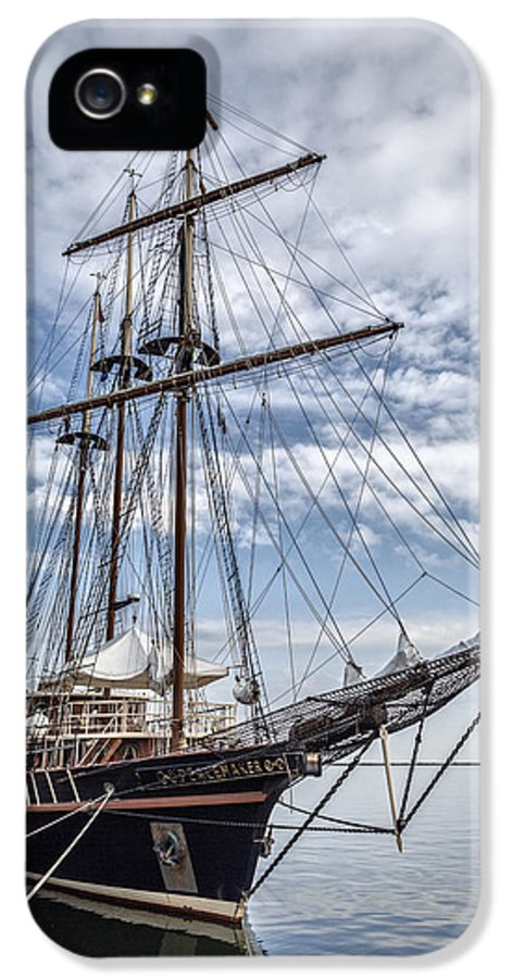 Peacemaker IPhone 5 Case featuring the photograph The Peacemaker Tall Ship by Dale Kincaid