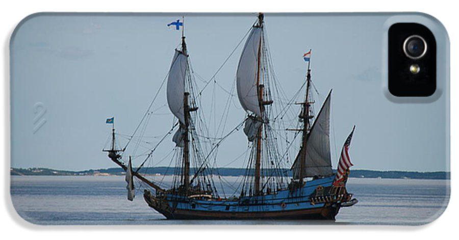 Ships IPhone 5 / 5s Case featuring the photograph The Pirate Ship by Cecelia Helwig