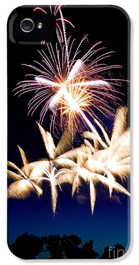 Fireworks IPhone 5 Case featuring the photograph The Pyramid by Andrew Brooks