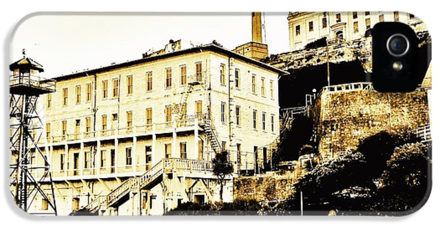 Alcatraz IPhone 5 Case featuring the photograph The Rock by Benjamin Yeager