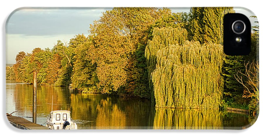 France IPhone 5 Case featuring the photograph The Seine At Bonnieres by Olivier Le Queinec