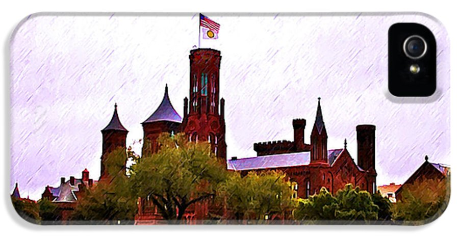 Washington IPhone 5 Case featuring the photograph The Smithsonian by Bill Cannon