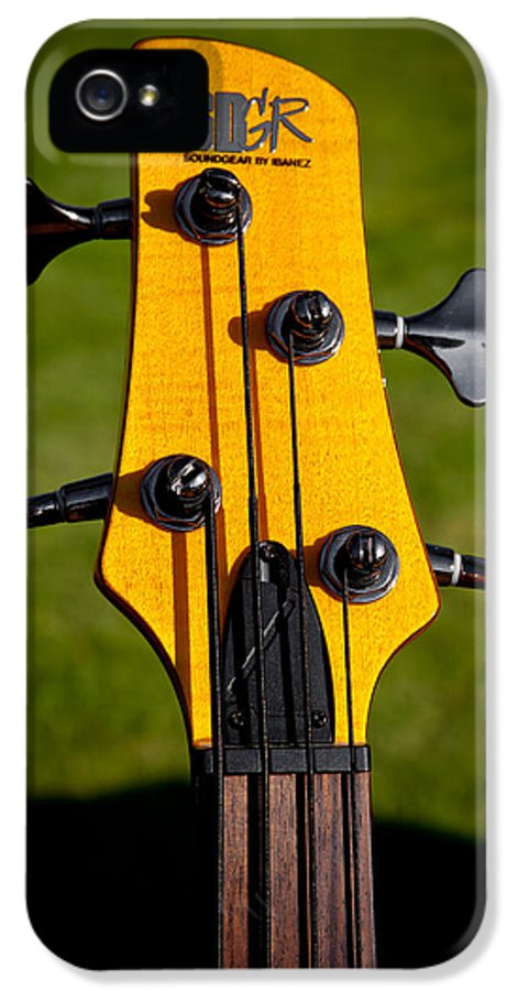Soundgear Guitar By Ibanez IPhone 5 Case featuring the photograph The Soundgear Guitar By Ibanez by David Patterson