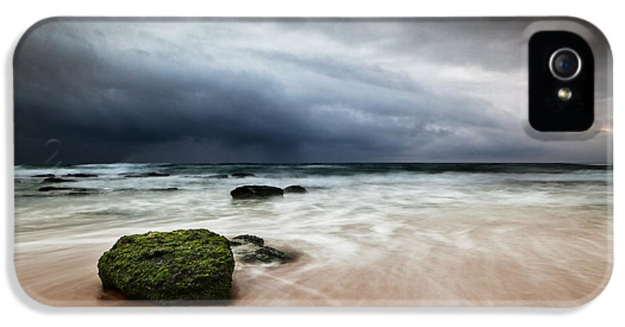 Beach IPhone 5 / 5s Case featuring the photograph The Storm by Jorge Maia