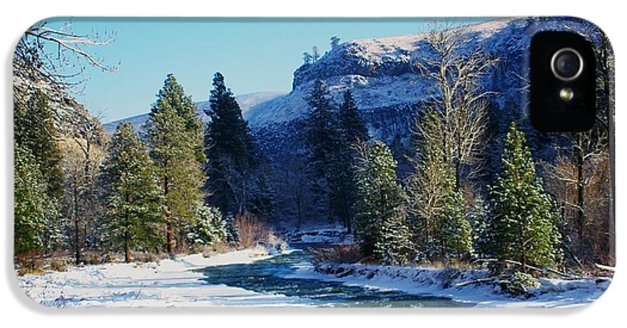 Rivers IPhone 5 Case featuring the photograph The Tieton River by Jeff Swan