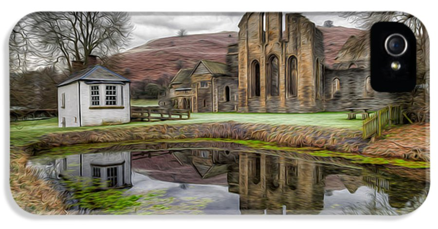 13th Century IPhone 5 Case featuring the photograph The Welsh Abbey by Adrian Evans