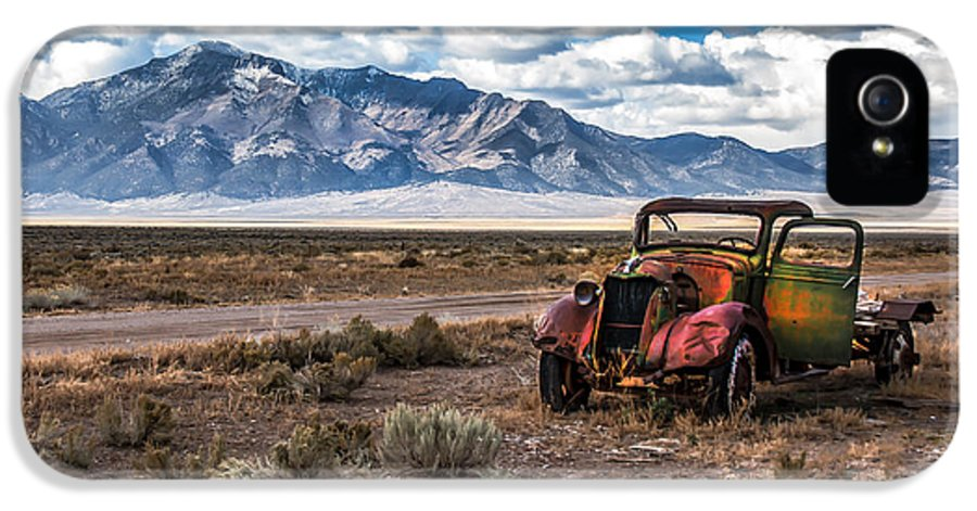 Transportation IPhone 5 Case featuring the photograph This Old Truck by Robert Bales