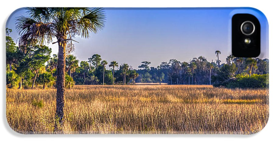 Pine Island Florida IPhone 5 Case featuring the photograph Those Quiet Sounds by Marvin Spates