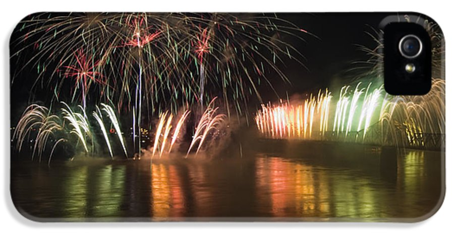 Thunder IPhone 5 Case featuring the photograph Thunder Over Louisville - D008432 by Daniel Dempster