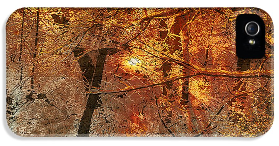 IPhone 5 Case featuring the mixed media Time IIi by Yanni Theodorou