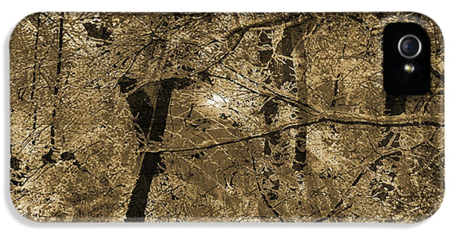 IPhone 5 Case featuring the mixed media Time Iv by Yanni Theodorou