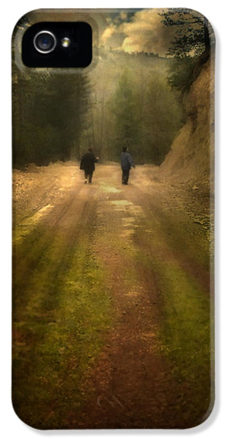 Woods IPhone 5 Case featuring the photograph Time Stand Still by Taylan Apukovska