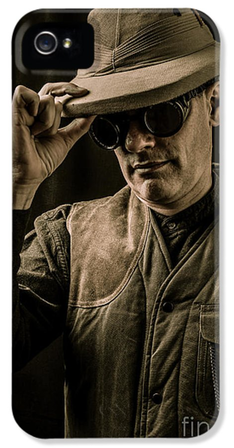 Pith IPhone 5 Case featuring the photograph Time Traveler by Edward Fielding