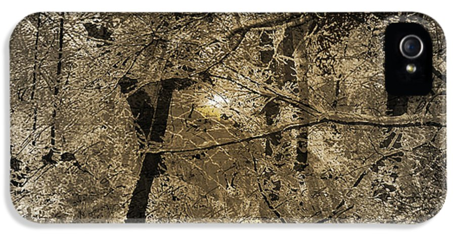 IPhone 5 Case featuring the mixed media Time V by Yanni Theodorou