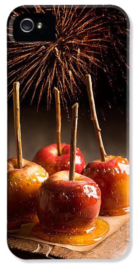 Toffee IPhone 5 Case featuring the photograph Toffee Apples Group by Amanda Elwell