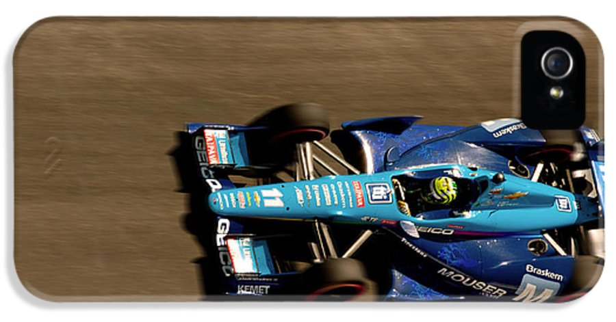 Long Beach Ca IPhone 5 Case featuring the photograph Tony Kanaan by Denise Dube