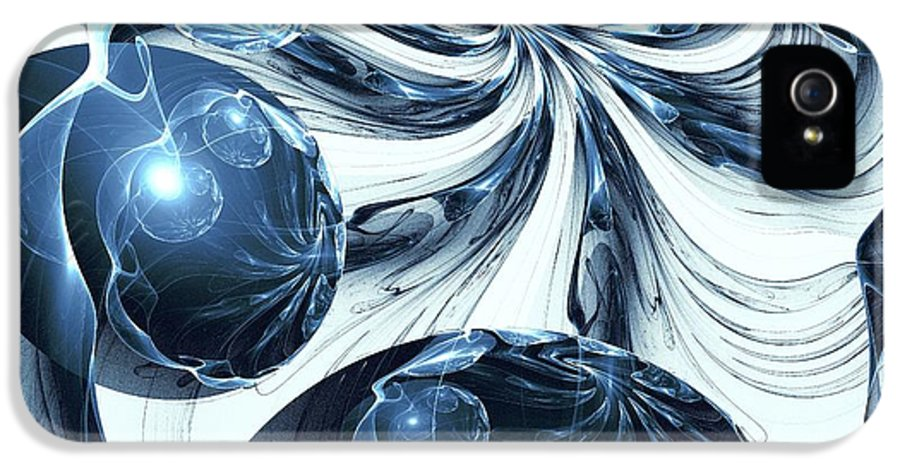 Total IPhone 5 Case featuring the digital art Total Internal Reflection by Anastasiya Malakhova