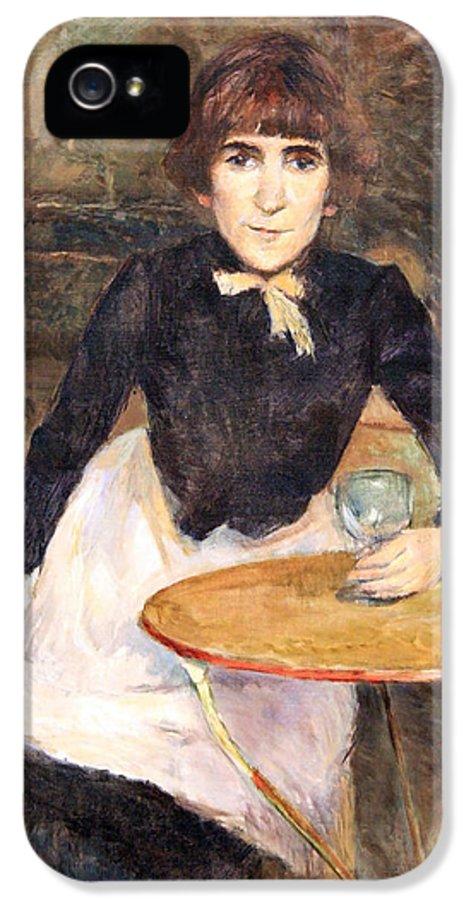 A La Bastille IPhone 5 Case featuring the photograph Toulouse Lautrec's A La Bastille -- Jeanne Wenz by Cora Wandel