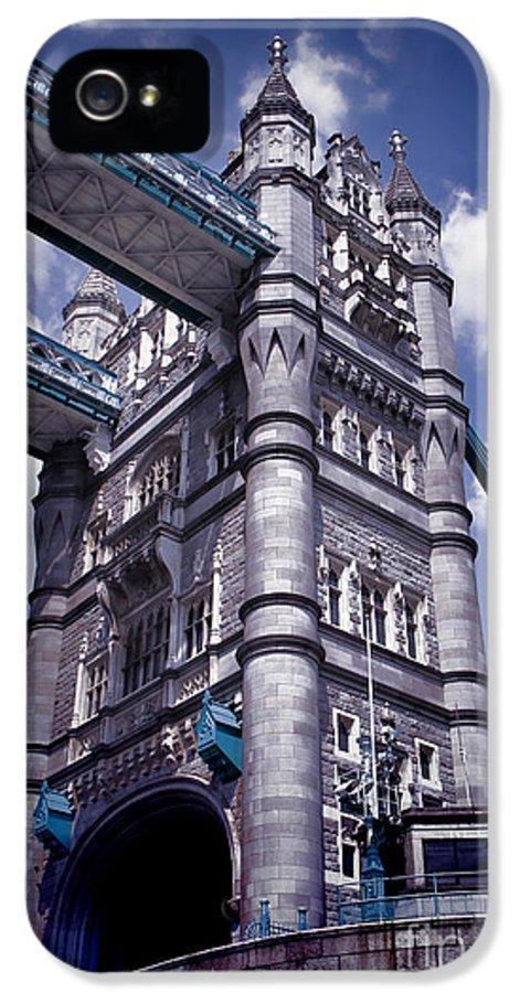 Tower Bridge London IPhone 5 / 5s Case featuring the photograph Tower Bridge London by Mariola Bitner