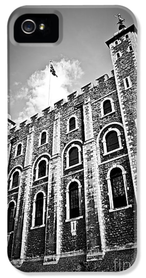 Tower IPhone 5 Case featuring the photograph Tower Of London by Elena Elisseeva