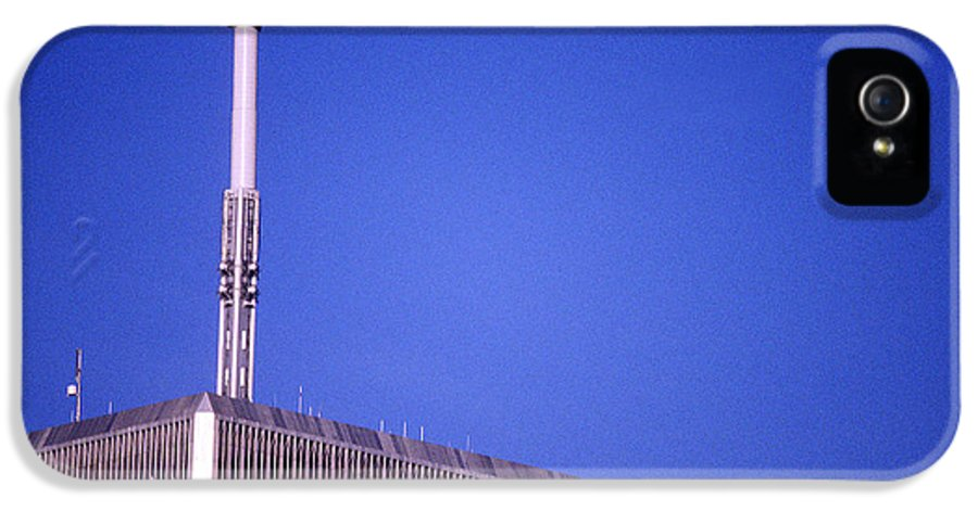 World Trade Center IPhone 5 Case featuring the photograph Tower One by Jon Neidert