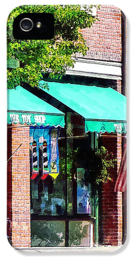 Bristol IPhone 5 Case featuring the photograph Toy Shop Bristol Ri by Susan Savad