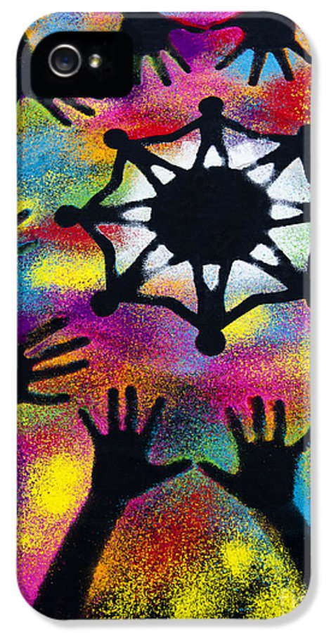 One World IPhone 5 Case featuring the photograph Unity by Tim Gainey