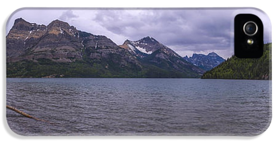 Upper Waterton Lake IPhone 5 Case featuring the photograph Upper Waterton Lake by Chad Dutson