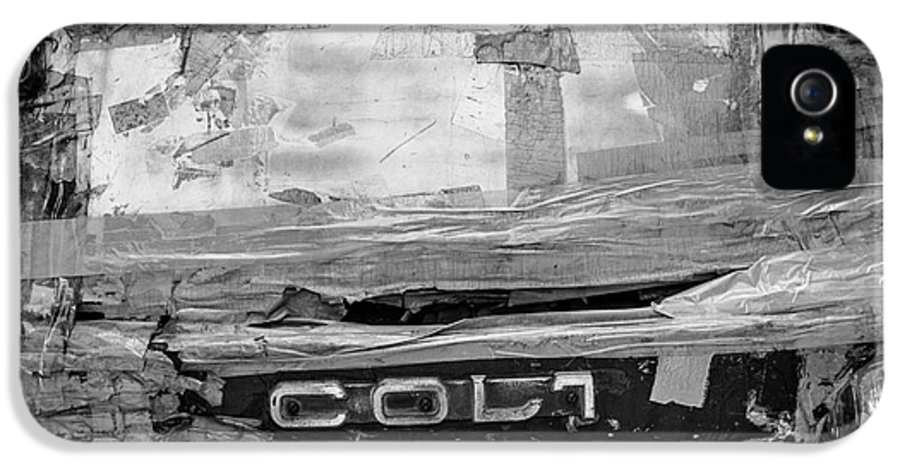 Used Car IPhone 5 Case featuring the photograph Used Car Abstract V by Dean Harte