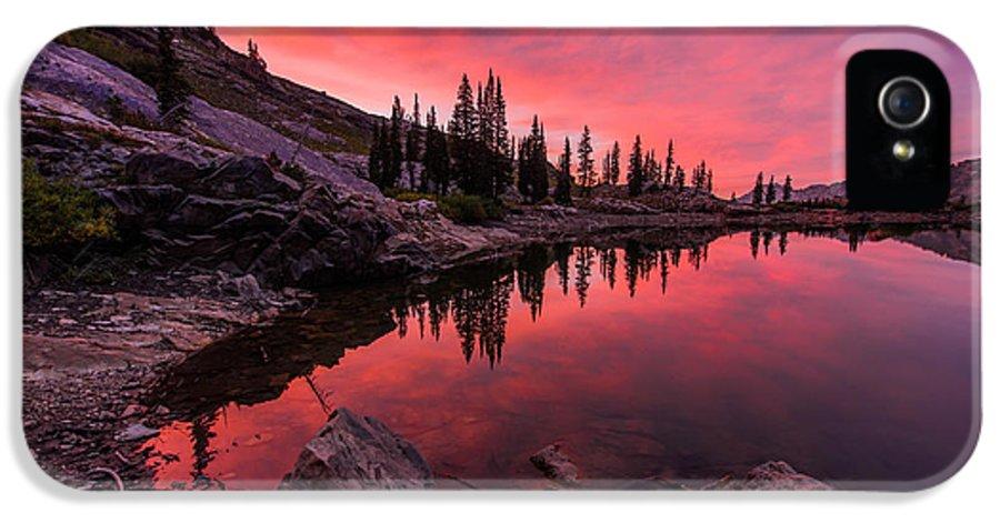 Utahs Cecret IPhone 5 Case featuring the photograph Utah's Cecret by Chad Dutson