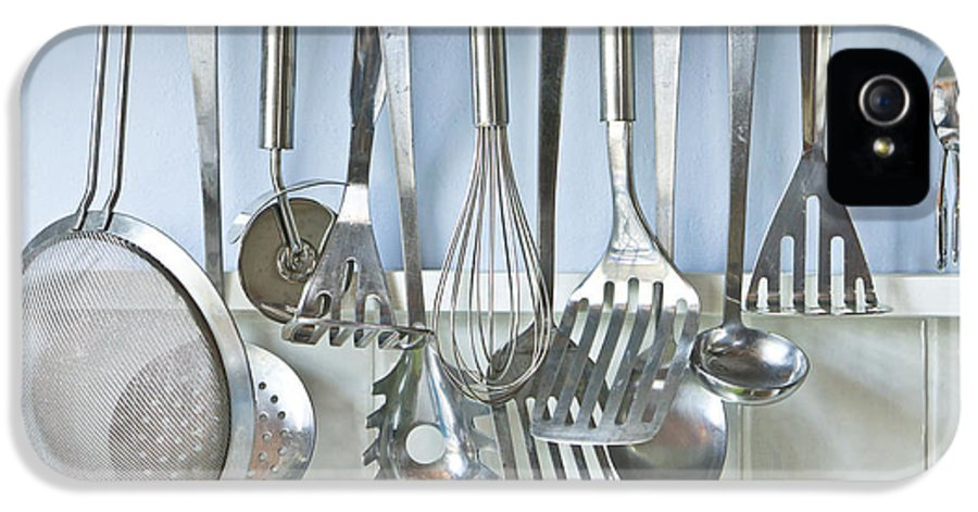 Appliance IPhone 5 Case featuring the photograph Utensils by Tom Gowanlock