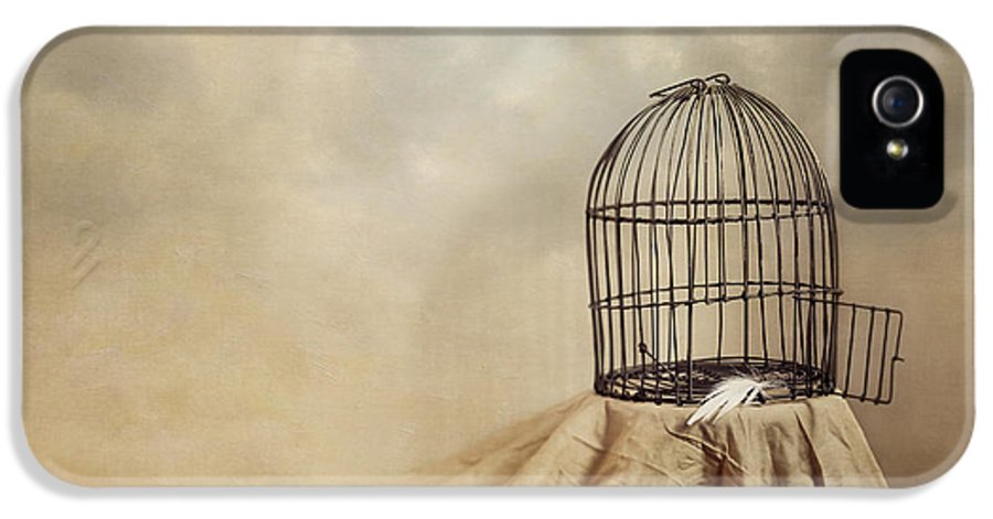 Cage IPhone 5 Case featuring the photograph Vanishing Act by Amy Weiss