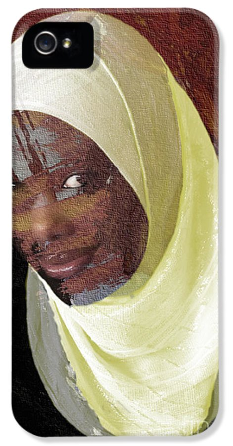 African Women IPhone 5 Case featuring the photograph Veiling Mama Africa by Morris Keyonzo
