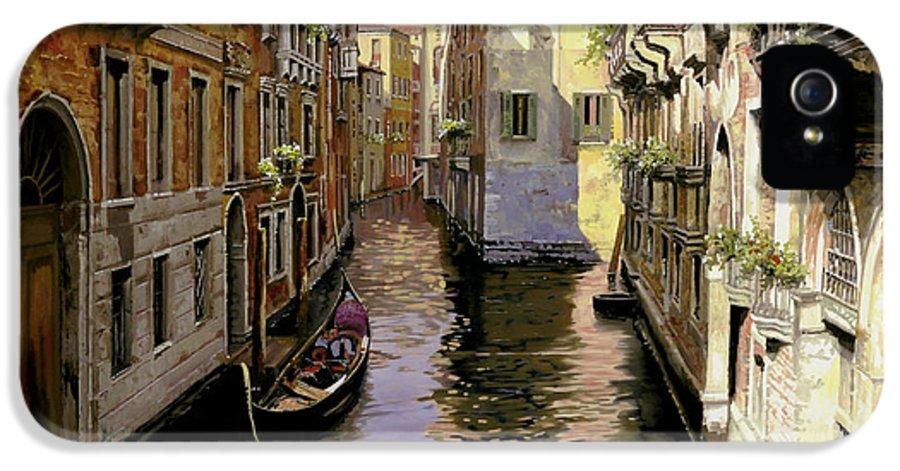 Venice IPhone 5 Case featuring the painting Venezia Chiara by Guido Borelli
