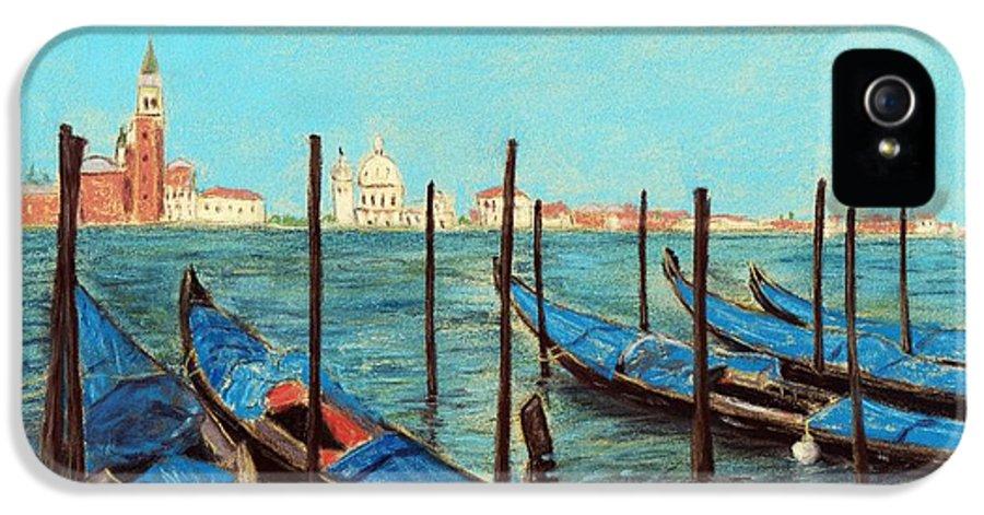 Interior IPhone 5 Case featuring the painting Venice by Anastasiya Malakhova