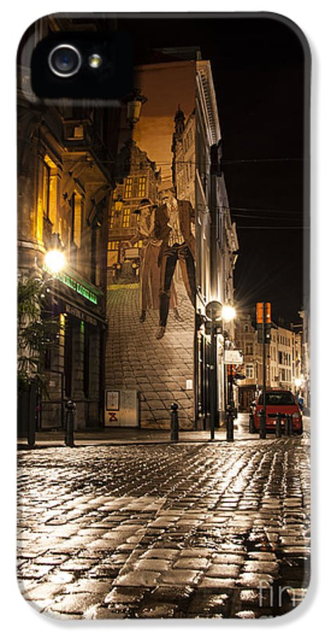 Art IPhone 5 Case featuring the photograph Victor Sackville In The Dark by Juli Scalzi
