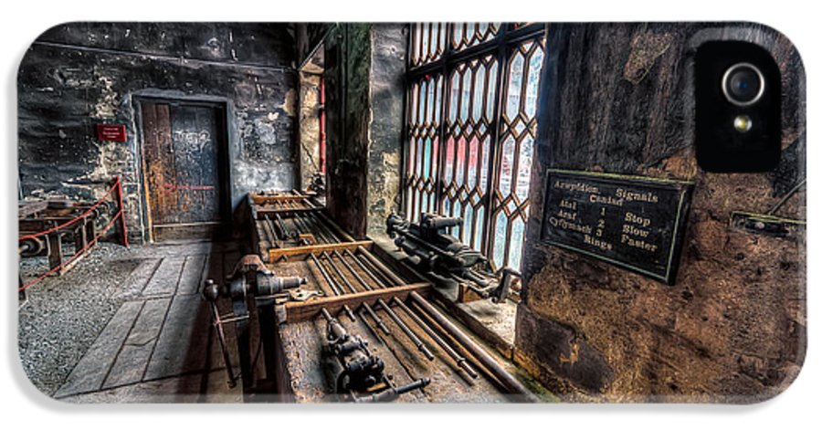 Architecture IPhone 5 Case featuring the photograph Victorian Workshops by Adrian Evans
