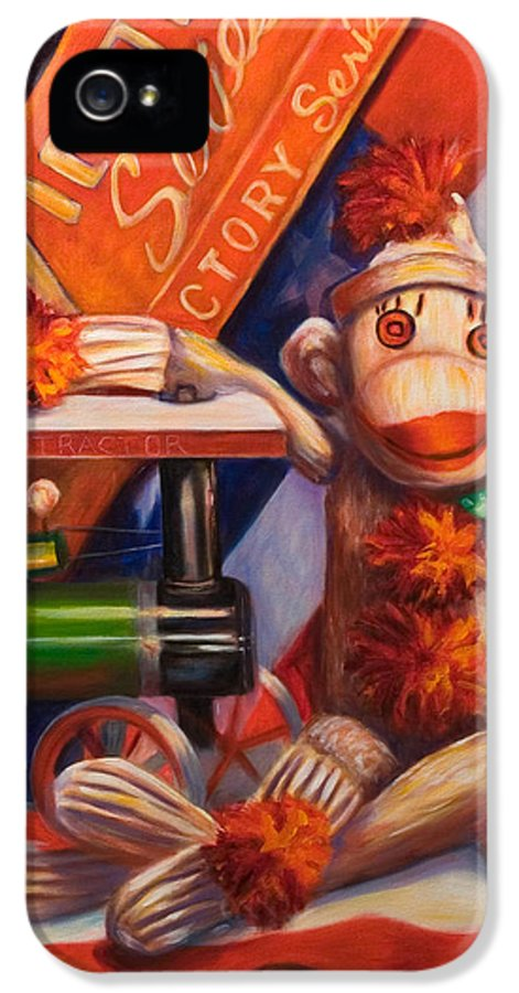 4th Of July IPhone 5 Case featuring the painting Victory by Shannon Grissom