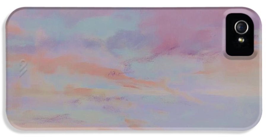 Skyline IPhone 5 Case featuring the painting View From Hull by Laura Lee Zanghetti
