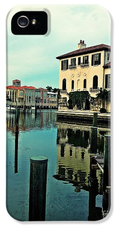 Southwest Florida IPhone 5 Case featuring the photograph View From The Boardwalk 3 by K Simmons Luna