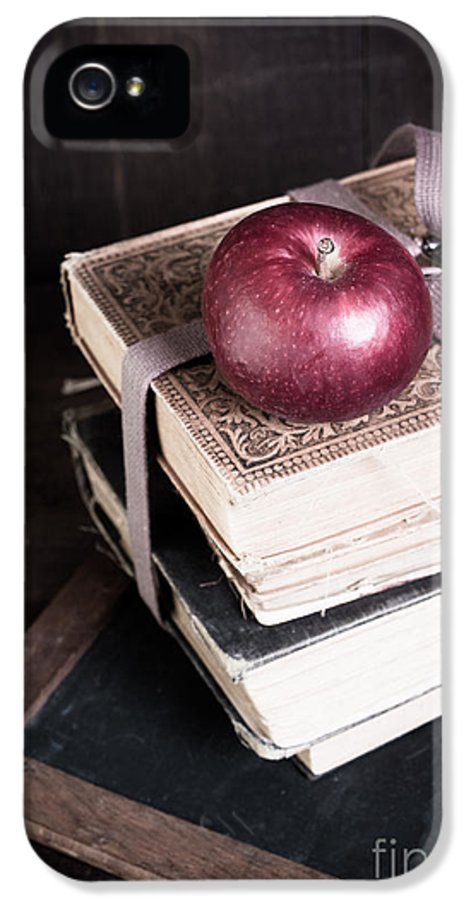 School IPhone 5 Case featuring the photograph Vintage Back To School by Edward Fielding